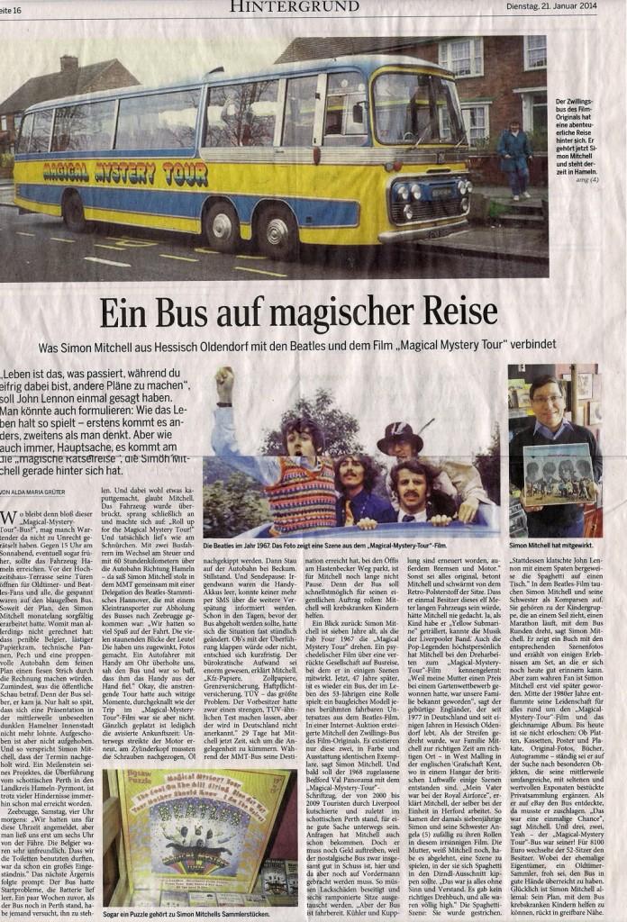 Ein Bus auf magischer Reise