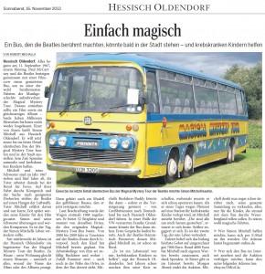 16.11.2013 - Mit freundlicher Genehmigung der Deister Weser Zeitung: