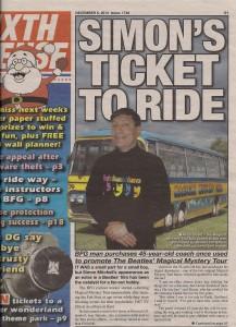 Sixth Sense-Simon´s ticket to ride
